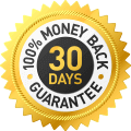 100% money back guarantee 30 days risk-free